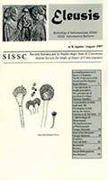 Eleusis : bollettino d'informazione SISSC = SISSC information bulletin