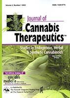 Journal of cannabis therapeutics : the official journal of International Association for Cannabis as Medicine
