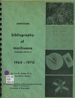 Annotated Bibliography of Marihuana