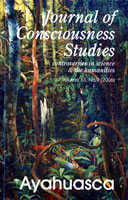Journal of Consciousness Studies: Ayahuasca
