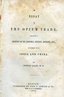 Essay on The Opium Trade