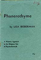 Phanerothyme; a western approach to the religious use of psychochemicals