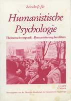 Zeitschrift fur Humanistische Psychologie