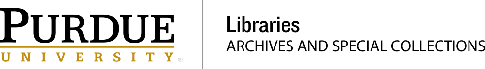Purdue University Archives and Special Collections logo
